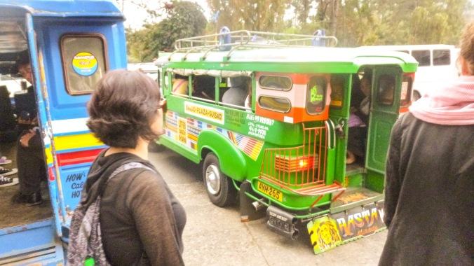 Travelling by jeepney was fun - once I got the hang of it! All you need are two expressions: