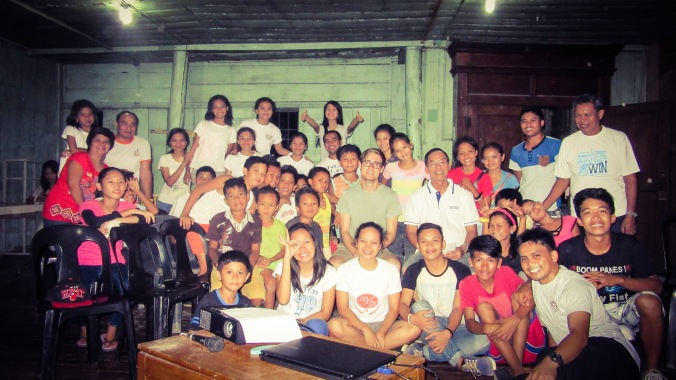 My wonderful community in Borongan City, Eastern Samar when I visited them one final time, last week.